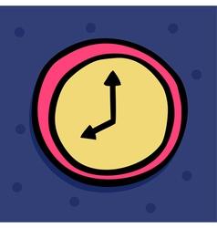 clock 2 vector image