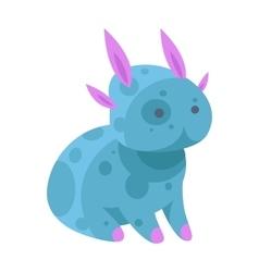 Fantasy monster character vector image