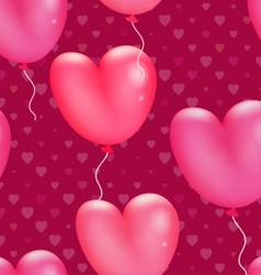 Happy Valentines Day Pattern vector image vector image