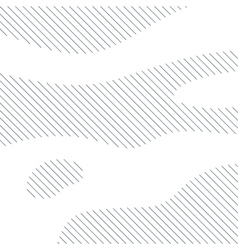 Linear background with black lines on white vector image vector image