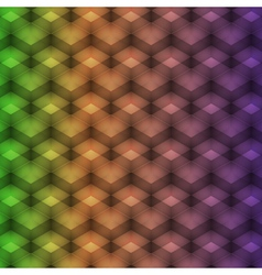Rainbow geometric pattern vector