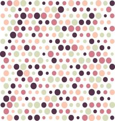 retro Polka dot background vector image vector image