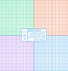 Graph paper pattern vector
