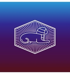 Ancient egyptian sphinx vector