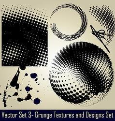 Grunge set vector