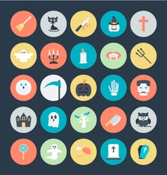 Halloween Icons 2 vector image