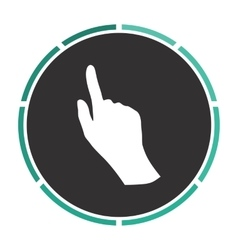 Mouse hand computer symbol vector