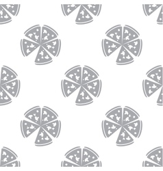 New pizza seamless pattern vector
