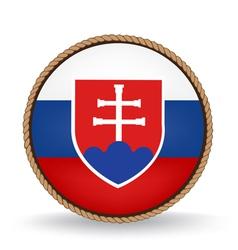 Slovakia Seal vector image vector image