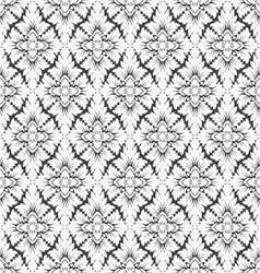 Seamless wallpaper pattern vector image