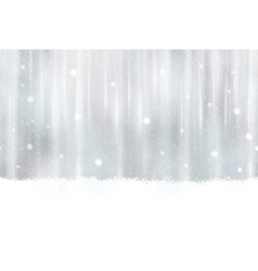 Seamless silver background with snowflakes vector image