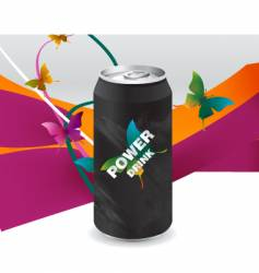 Power drink vector