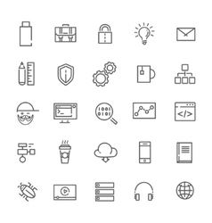Code programming icon vector