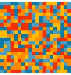 Colorful pixelated pattern vector