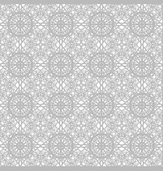 Gray ornate pattern seamless vector