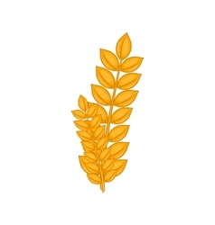 Wheat germ icon cartoon style vector