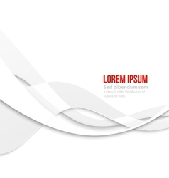 White elegant business background vector image