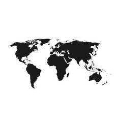 world map - vector image