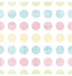 Abstract textile polka dots stripes seamless vector