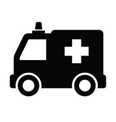 Ambulance icon vector