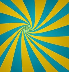 Cyan golden twirl background vector