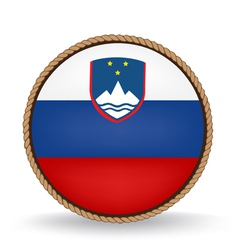 Slovenia seal vector