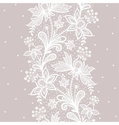 Vertical seamless pattern vector image vector image