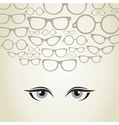 Glasses3 vector image