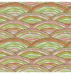 Seamless pattern with abstract doodle hand drawn vector