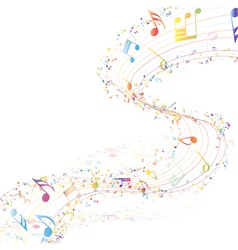 Musical design vector