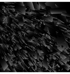 Abstract black explosion vector
