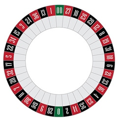American roulette vector image vector image