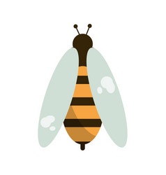 bee honey insect insect icon vector image