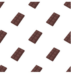 chocolate icon in cartoon style isolated on white vector image vector image
