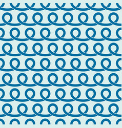 Endless pattern created with spirals and circles vector