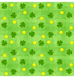 Saint patricks day shamrock vector image vector image