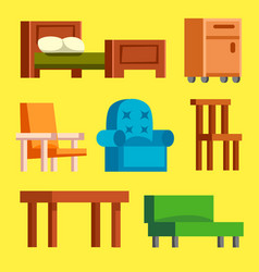 sofa isolated isolated vector image