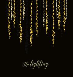 String lights vector