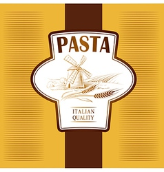 Pasta label vector
