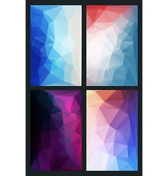 Abstract background in modern style flat vector