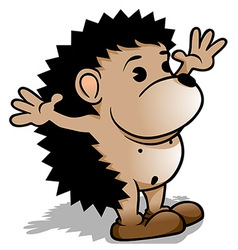 Little hedgehog vector