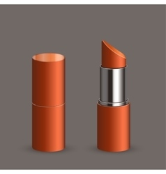 modern lipstick set vector image vector image