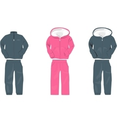 Sport suit for man vector