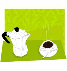 Italian coffee vector
