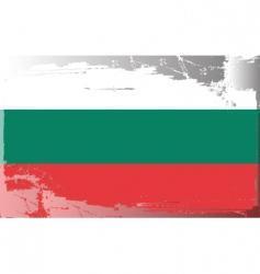 bulgaria national flag vector image