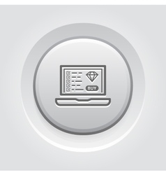 Landing page icon vector