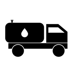 cistern truck vector image