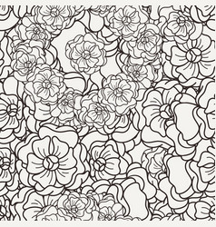 Flover wallpaper in the style of art nouveau vector
