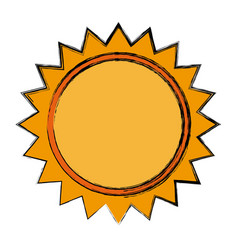 Sun light energy sunlight symbol vector