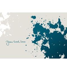 Spot grunge design vector
